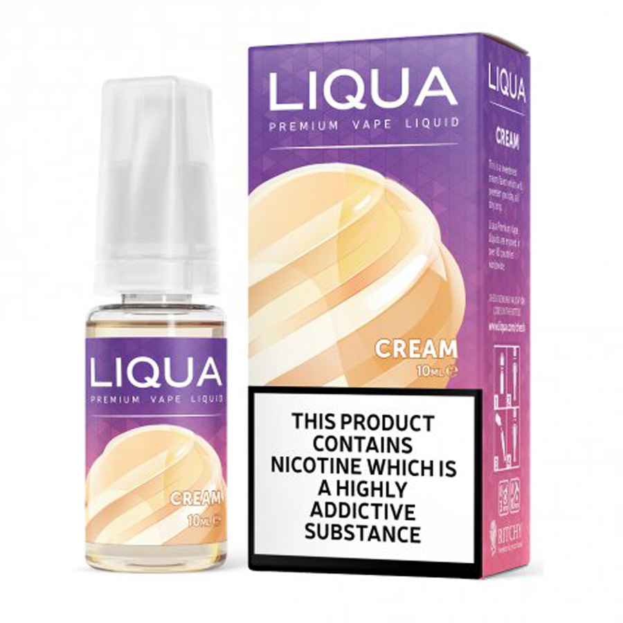 E-liquid Liqua Cream 10ml / 12mg