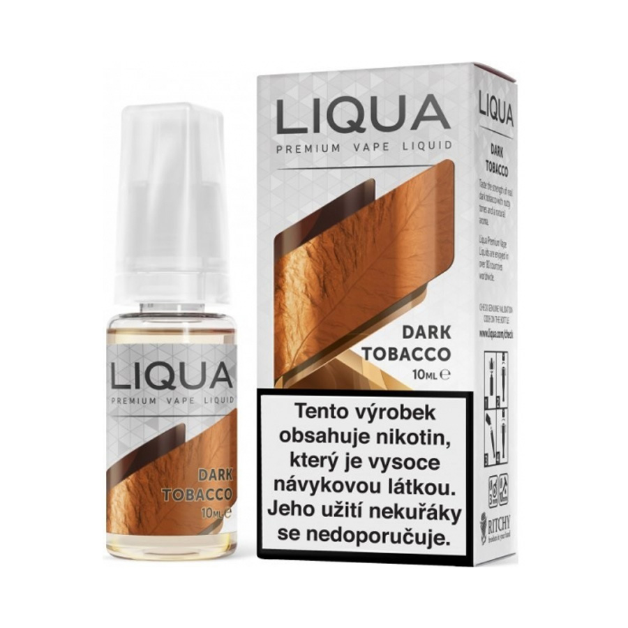 E-liquid Liqua DARK TABACCO 10ml / 6mg