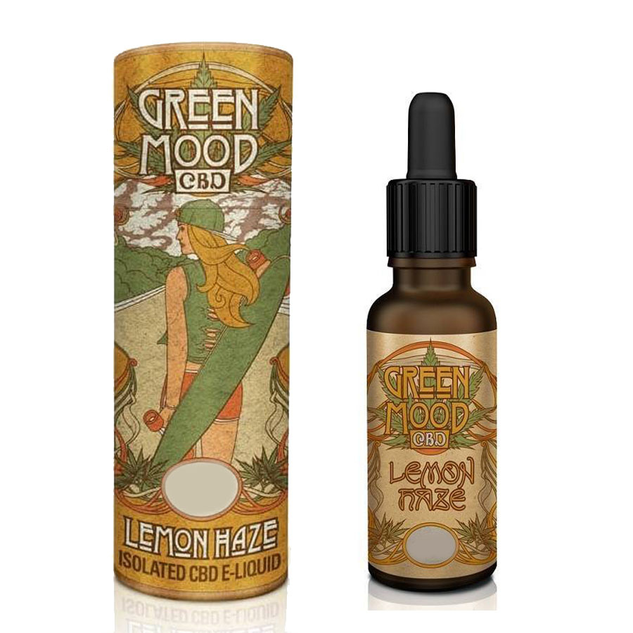 Liquid CBD Green Mood Super Lemon Haze 300mg/10ml