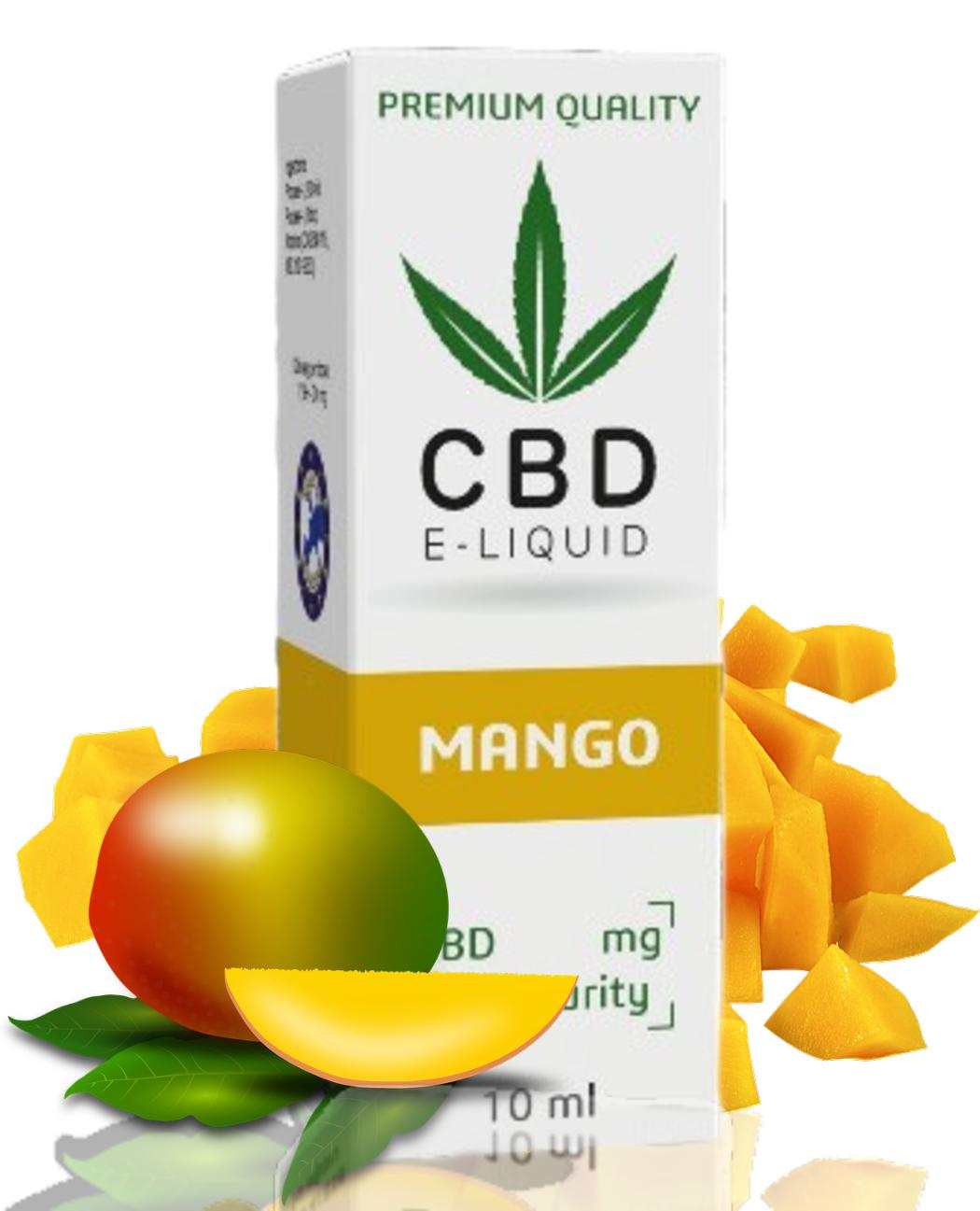 Liquid CBD Expran Mango 600mg/10ml