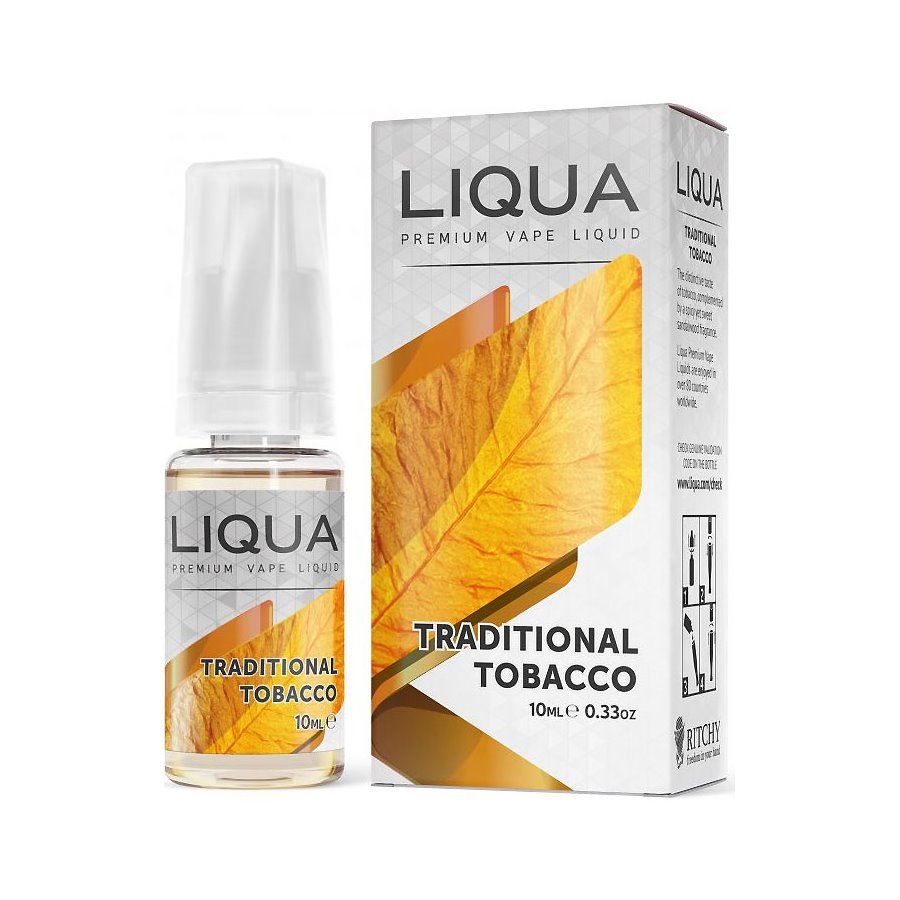 E-liquid Liqua TRADITIONAL TABACCO 10ml / 0mg