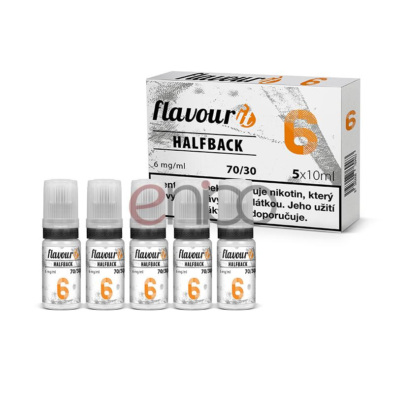 Booster Flavourit HALFBACK 70/30 - 10ml / 6mg 5ks