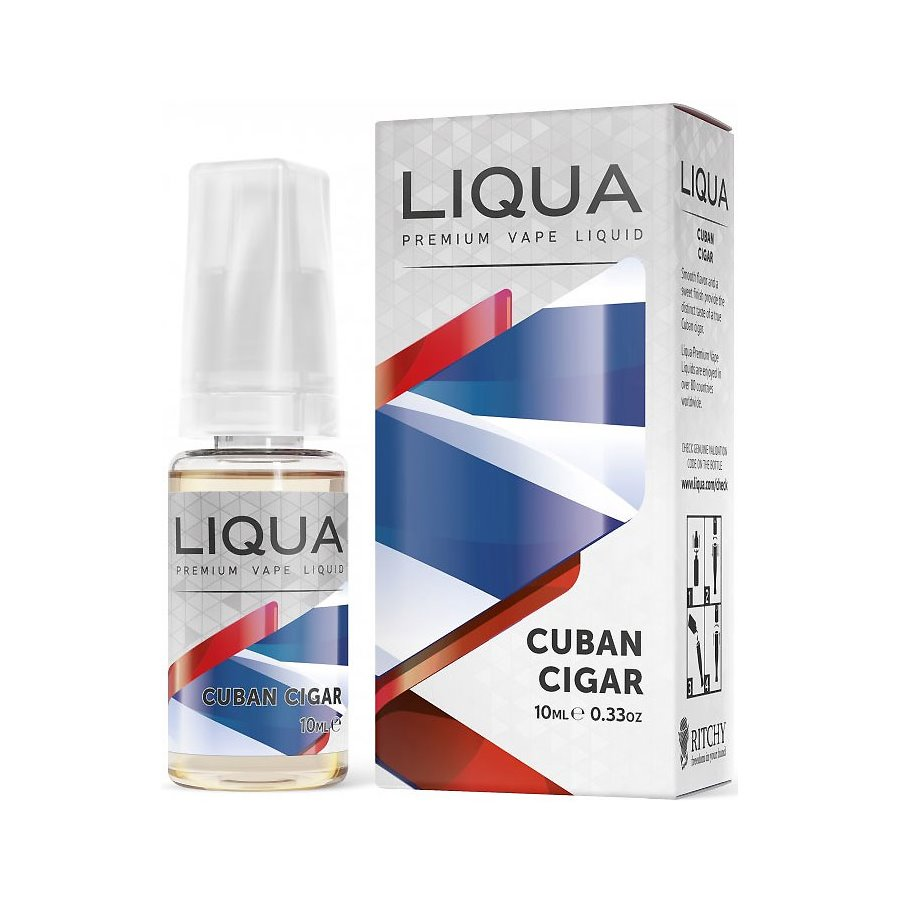 E-liquid Liqua CUBAN TABACCO 10ml / 18mg
