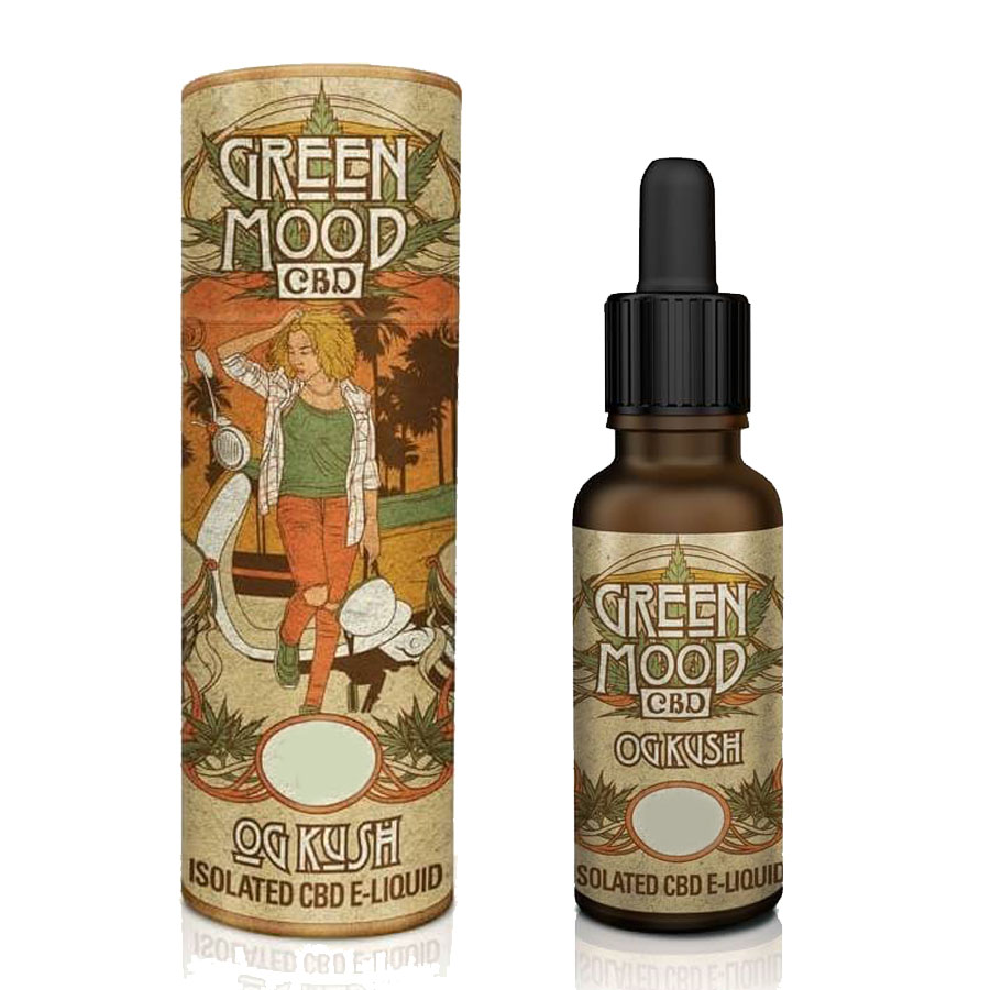 Liquid CBD Green Mood OG Kush 100mg/10ml