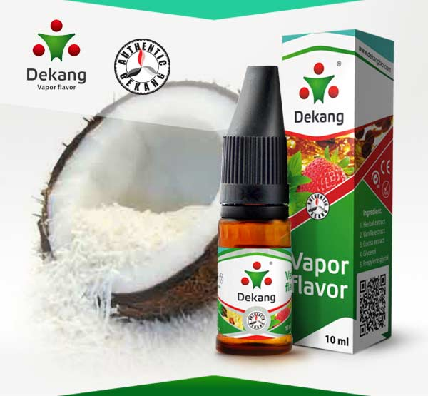 E-liquid Dekang Coconut 10ml / 6mg