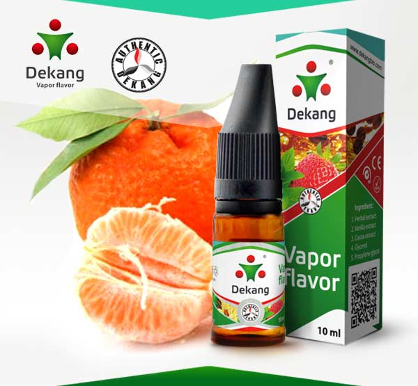 E-liquid Dekang Mandarin 10ml / 6mg